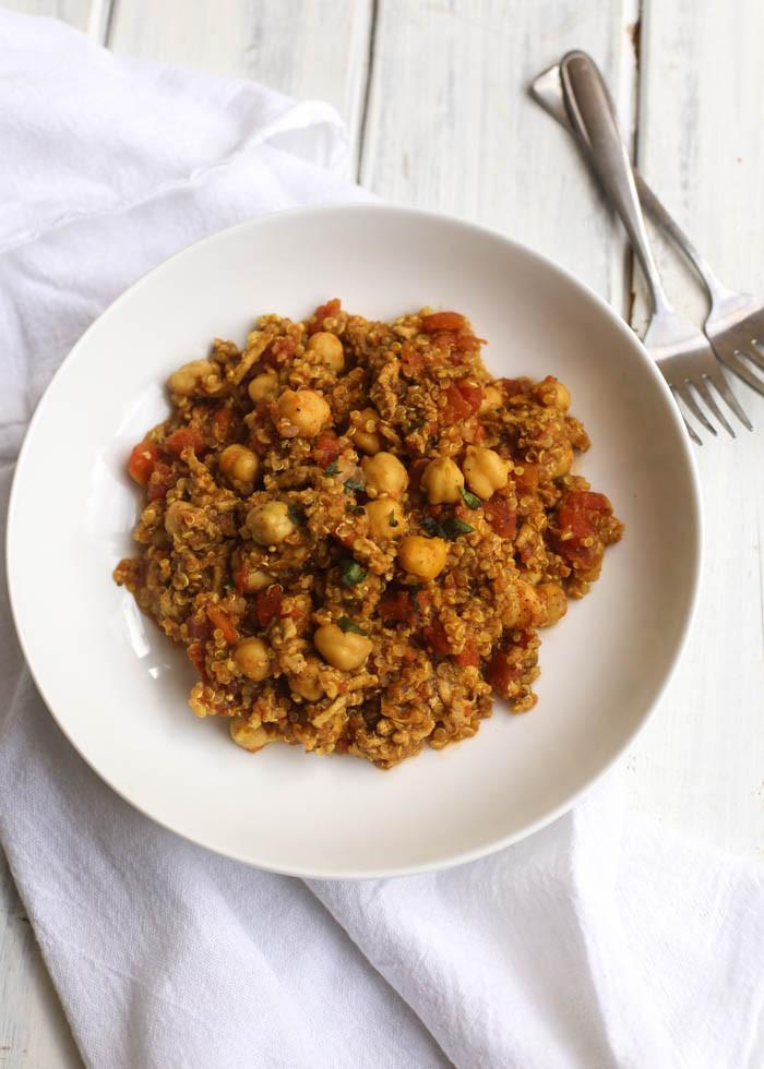 Quinoa Slow Cooker  Slow Cooker Curry Quinoa Turkey Bowls Boys Ahoy