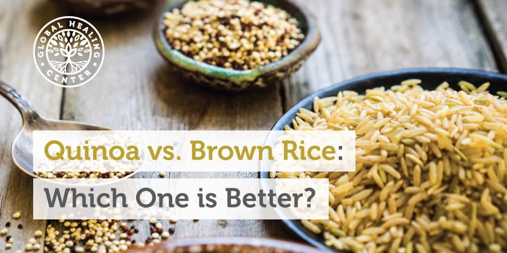 Quinoa Vs Brown Rice  quinoa vs rice