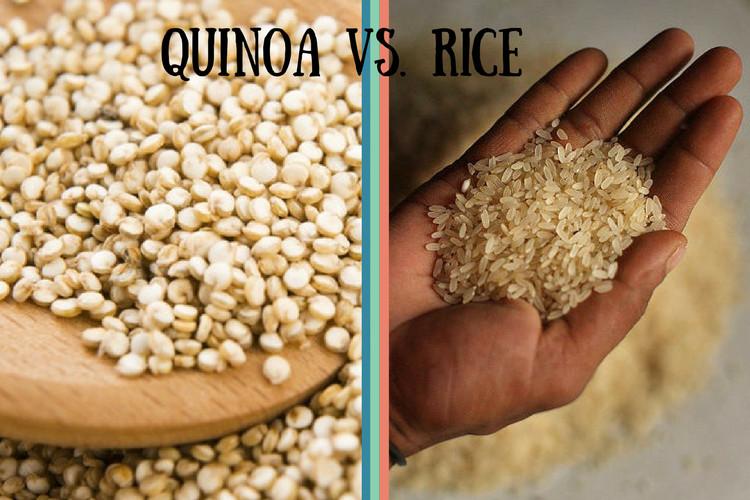 Quinoa Vs White Rice  Quinoa vs Rice Know If Quinoa is Healthier Than Rice