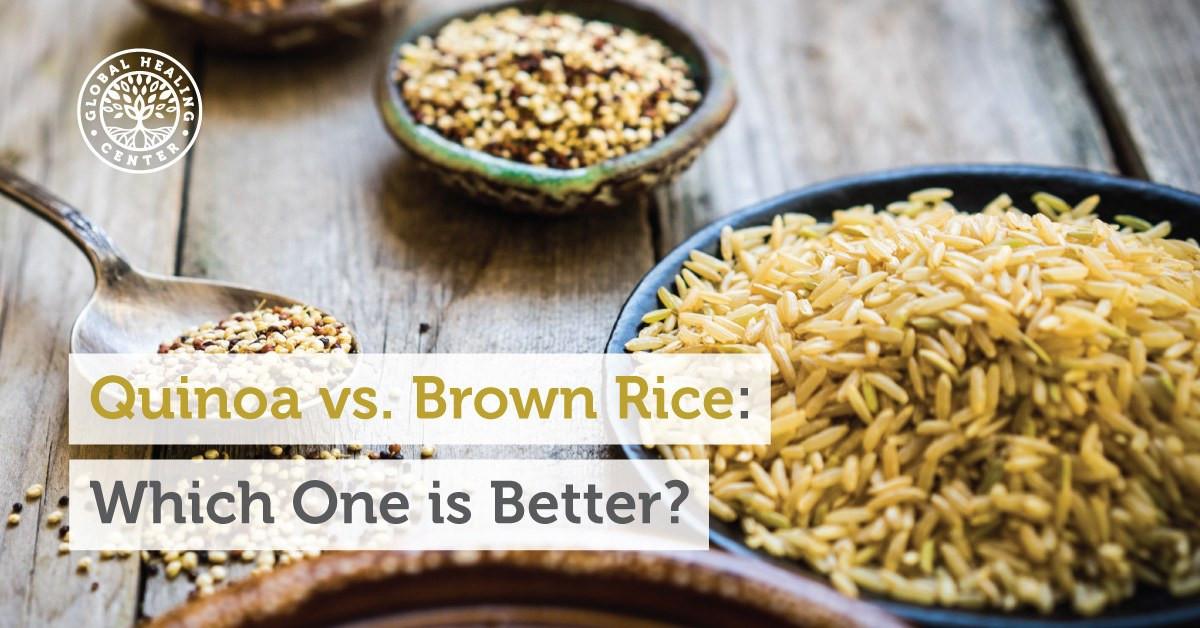 Quinoa Vs White Rice  Quinoa vs Brown Rice Which e is Better