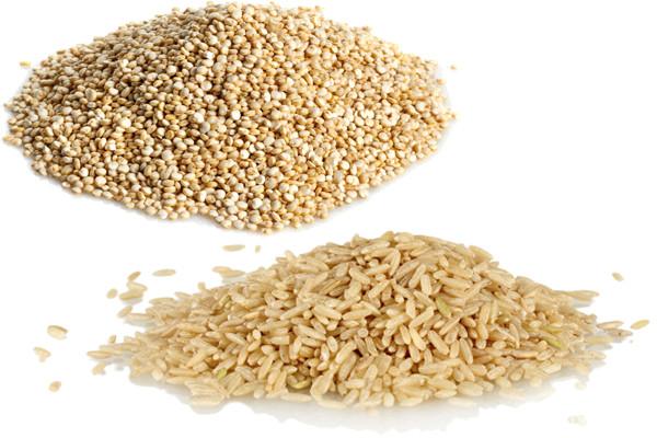 Quinoa Vs White Rice  Quinoa vs Brown Rice