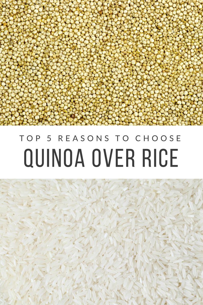 Quinoa Vs White Rice  quinoa vs rice