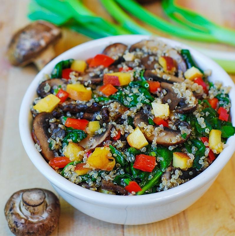 Quinoa With Vegetables  Healthy quinoa with ve ables Julia s Album