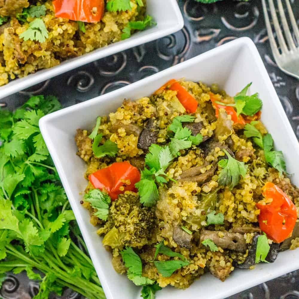 Quinoa With Vegetables  Instant Pot Quinoa with Sausage and Ve ables