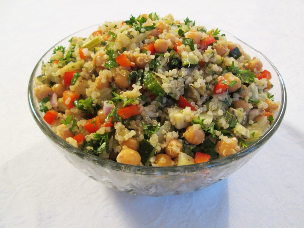 Quinoa With Vegetables  Chickpea Quinoa Salad with Roasted Ve ables Recipe