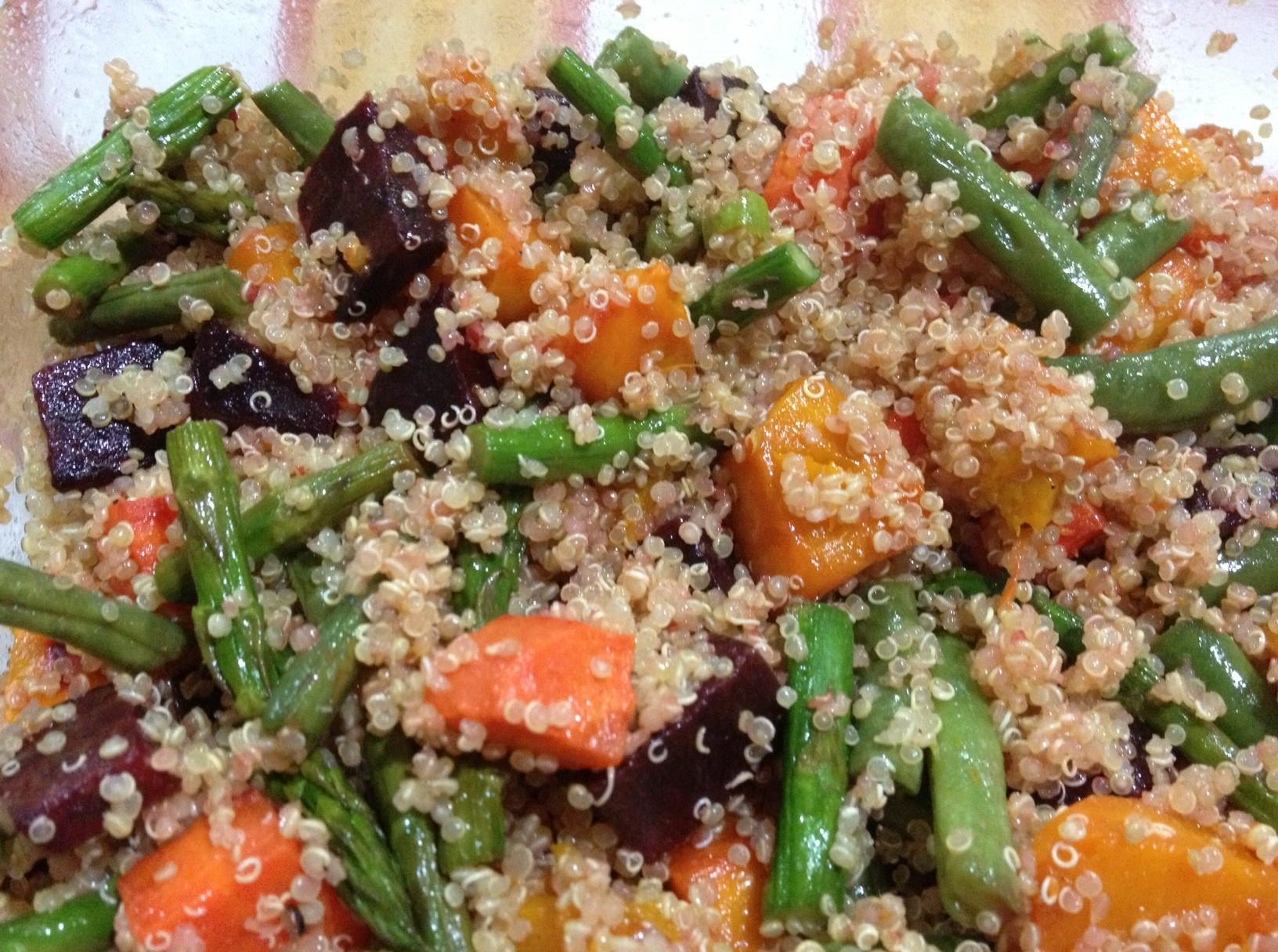 Quinoa With Vegetables  Quinoa With Veggies Recipe — Dishmaps