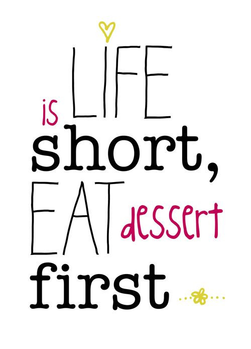 Quotes About Dessert  Best 27 Dessert Quotes – Skinny Ninja Mom