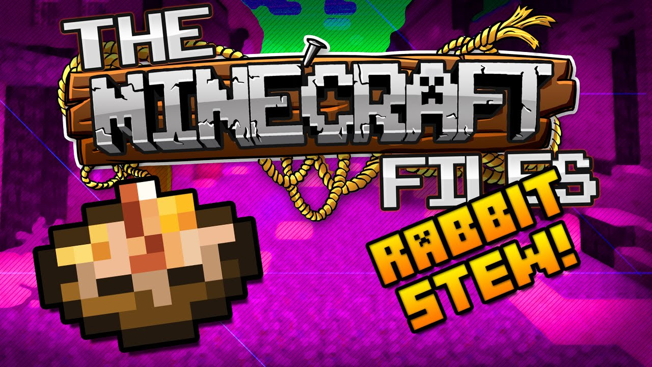 Rabbit Stew Minecraft  The Minecraft Files 394 RABBIT STEW