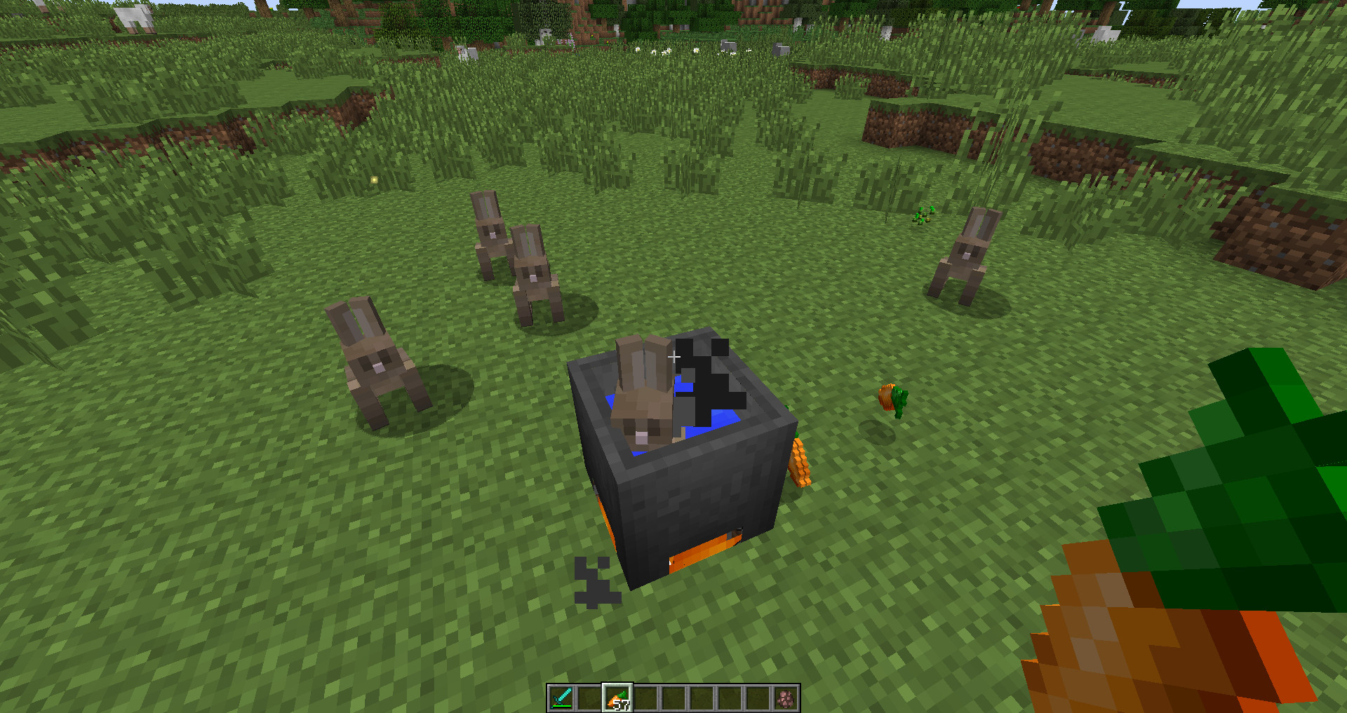 Rabbit Stew Minecraft  Just making some Rabbit Stew for dinner Minecraft