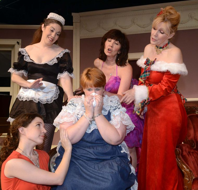 Rainbow Dinner Theater  In Always a Bridesmaid at the Rainbow Dinner Theatre a