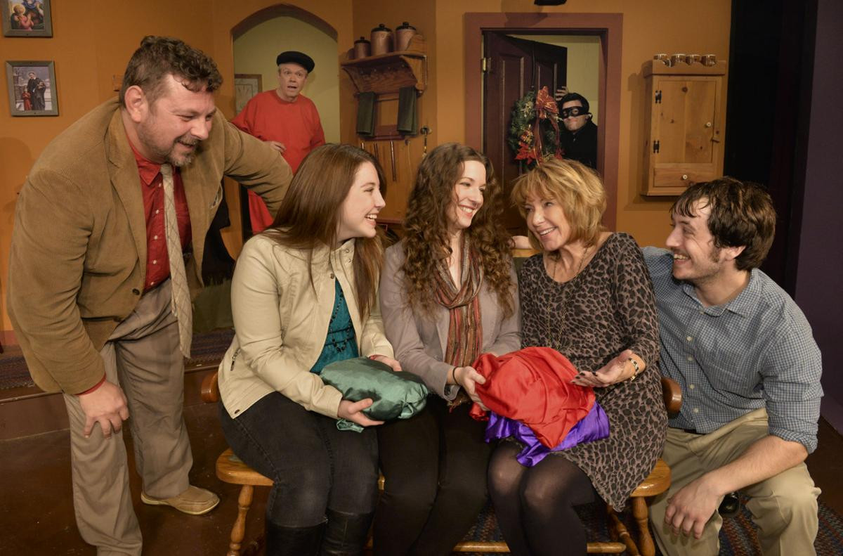 Rainbow Dinner Theater  Homily is the heart of Christmas shows at Rainbow Dinner