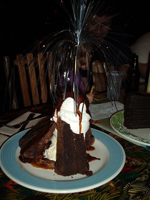 Rainforest Cafe Desserts Menu  Rainforest Cafe Volcano Dessert