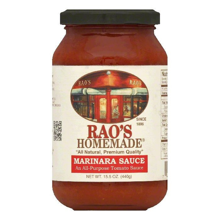 Raos Tomato Sauce  Rao s Homemade All Natural Tomato Sauce Marinara 15 5 Oz