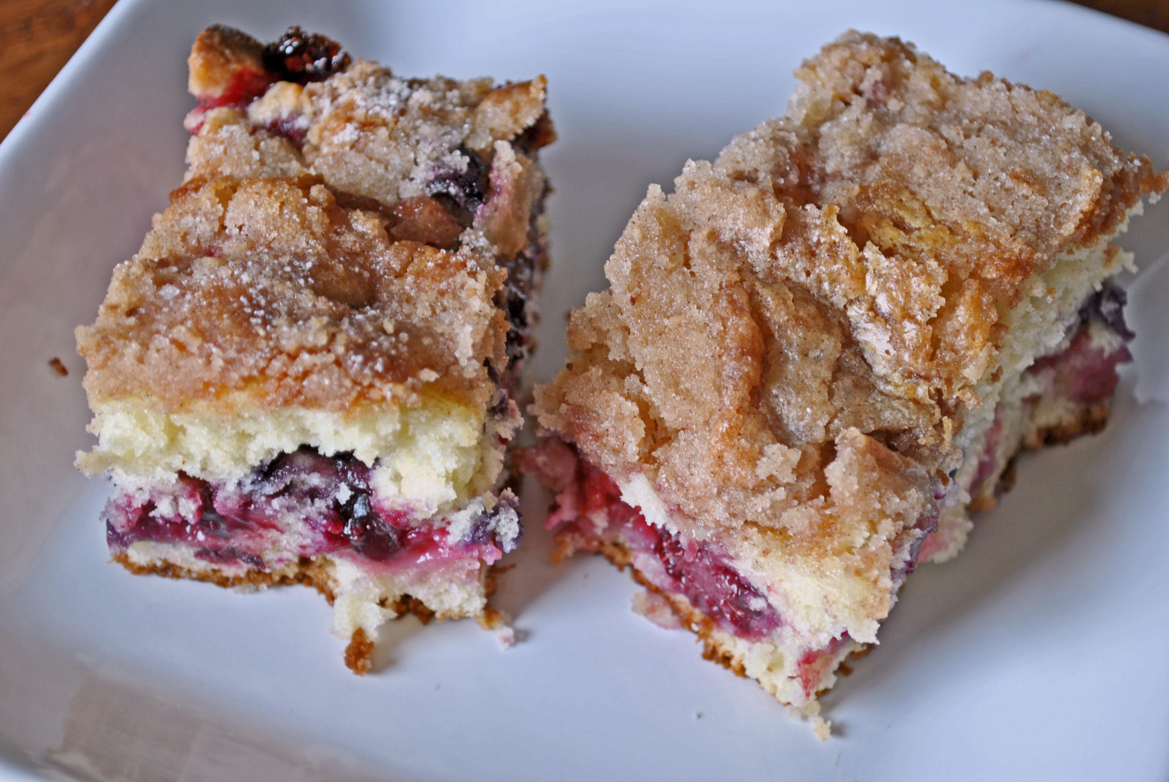 Raspberry Coffee Cake  Blueberry Raspberry Coffee Cake