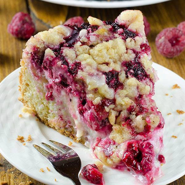 Raspberry Coffee Cake  40 of the BEST Cake Recipes Kitchen Fun With My 3 Sons