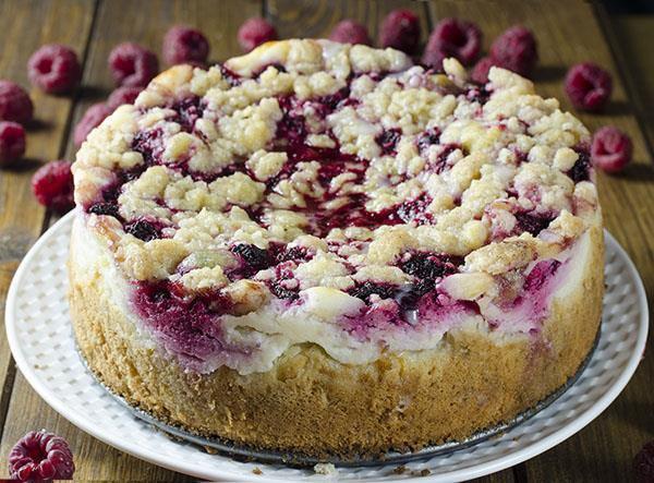 Raspberry Coffee Cake  Raspberry Cream Cheese Coffee Cake Chocolate Dessert
