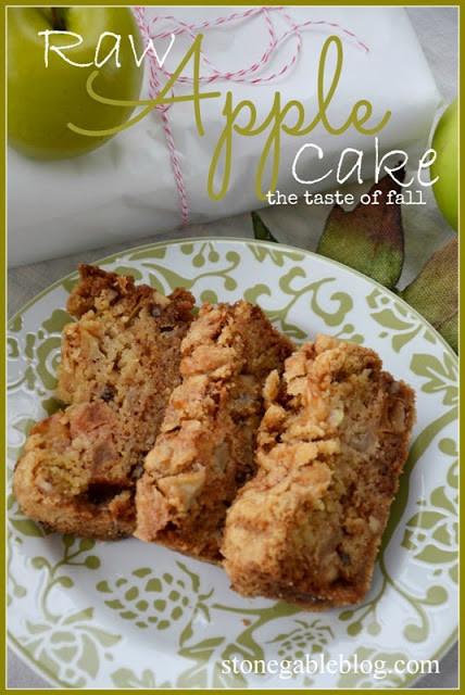 Raw Apple Cake  STONEGABLE RAW APPLE CAKE StoneGable