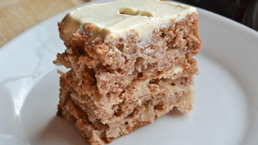 Raw Apple Cake  german raw apple cake