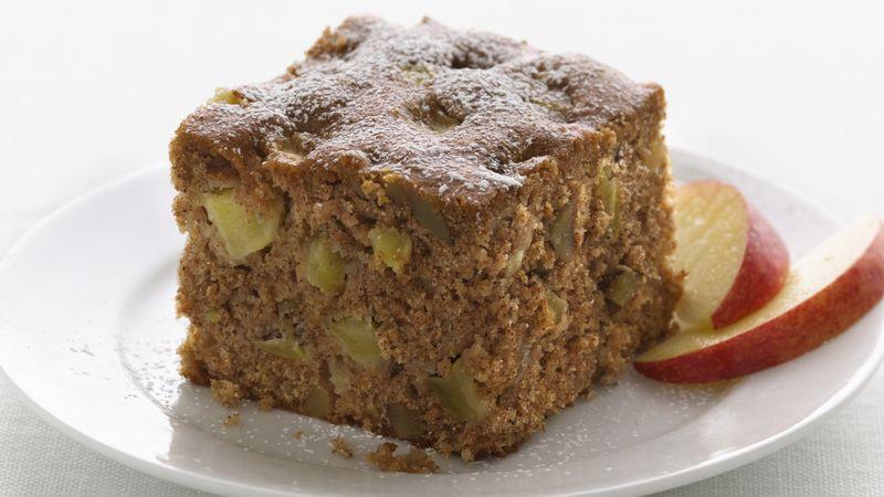 Raw Apple Cake  Skinny Fresh Apple Cake Recipe BettyCrocker