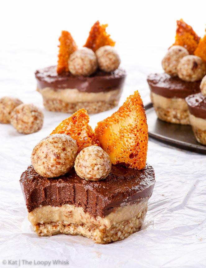 Raw Vegan Desserts  Raw Vegan Chocolate Coffee Cheesecake Bites The Loopy Whisk