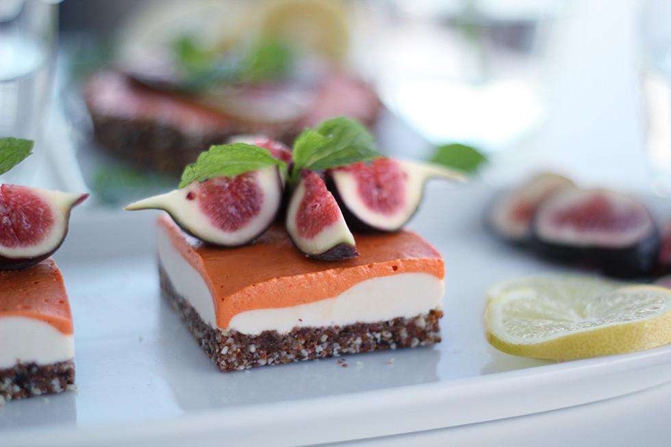 Raw Vegan Desserts  Vegan Lemon Goji Berry Cheesecake Raw & Gluten Free