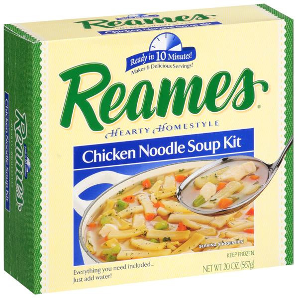Reames Chicken And Noodles  Reames Chicken Noodle Soup Kit