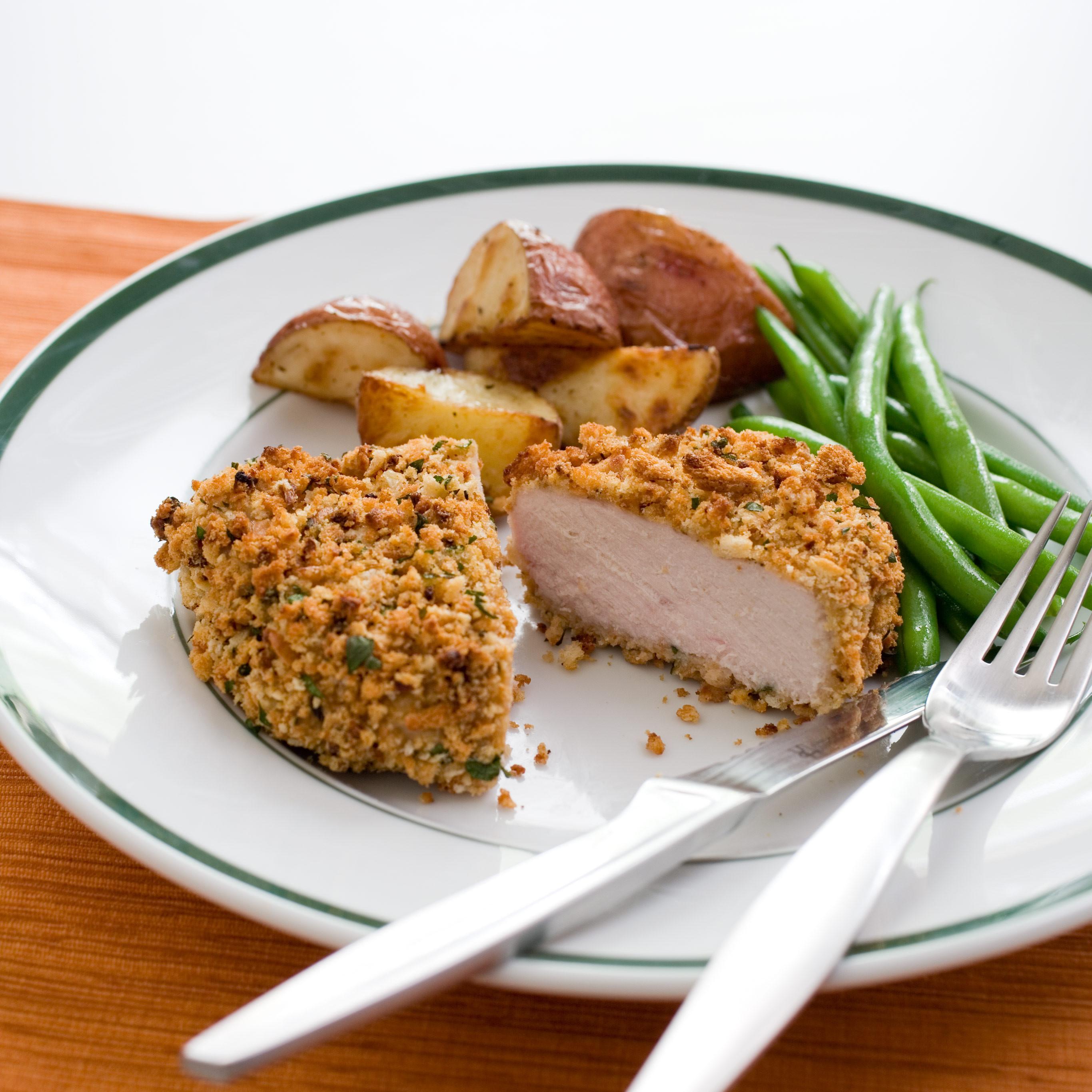 Recipe Baked Pork Chops  Crunchy Baked Pork Chops