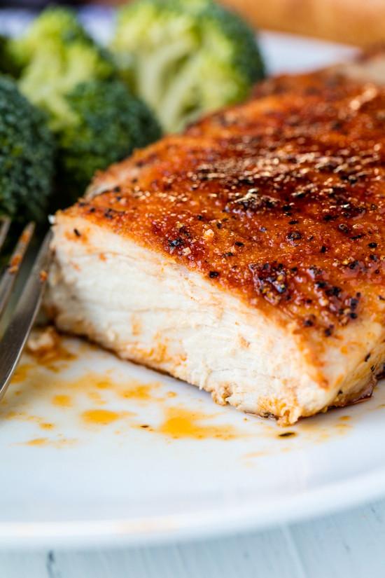 Recipe Baked Pork Chops  boneless pork chops in oven