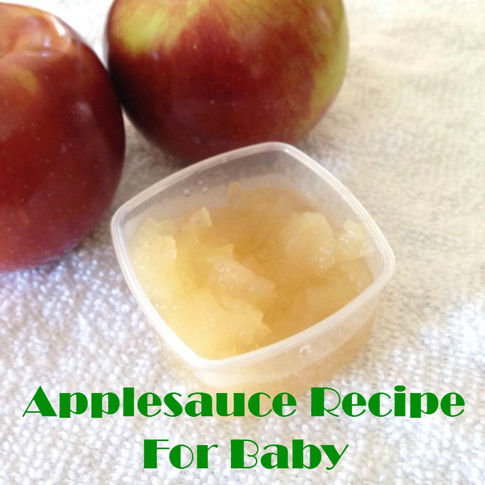 Recipe For Applesauce  Applesauce Recipe For Baby