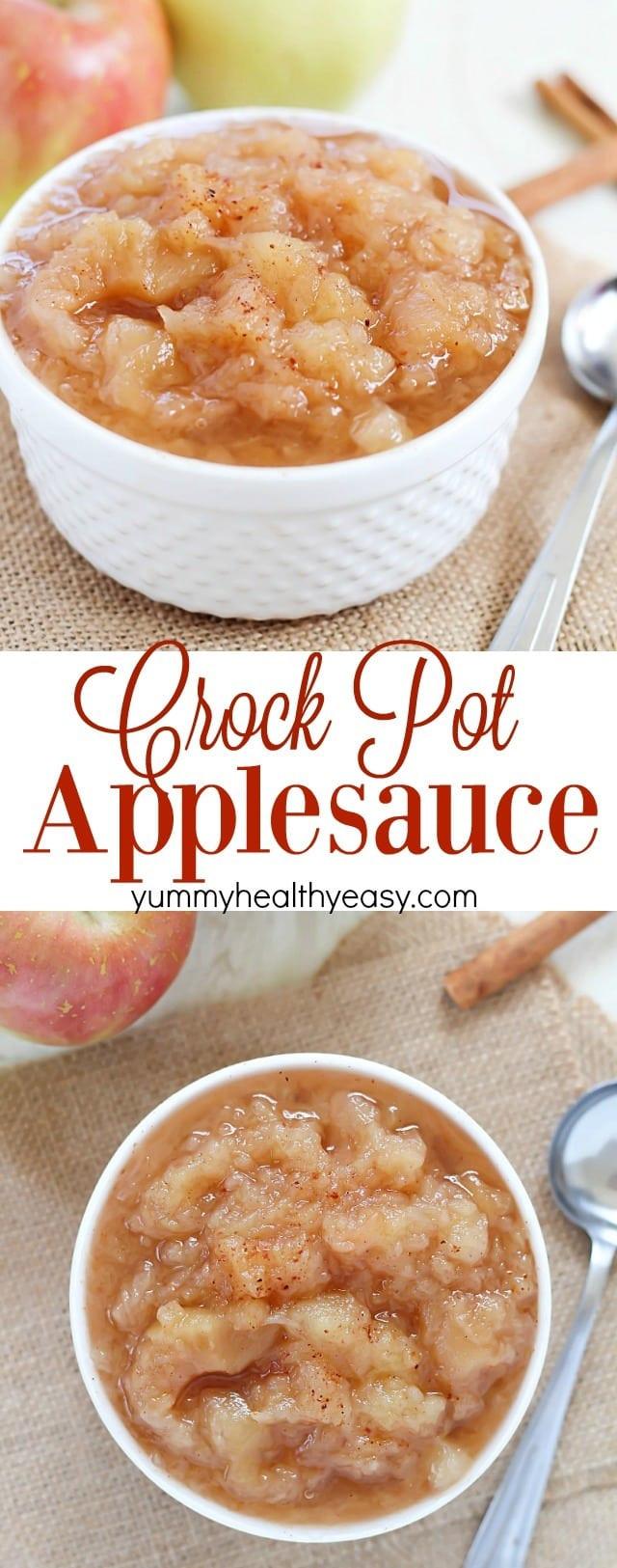 Recipe For Applesauce  applesauce recipe