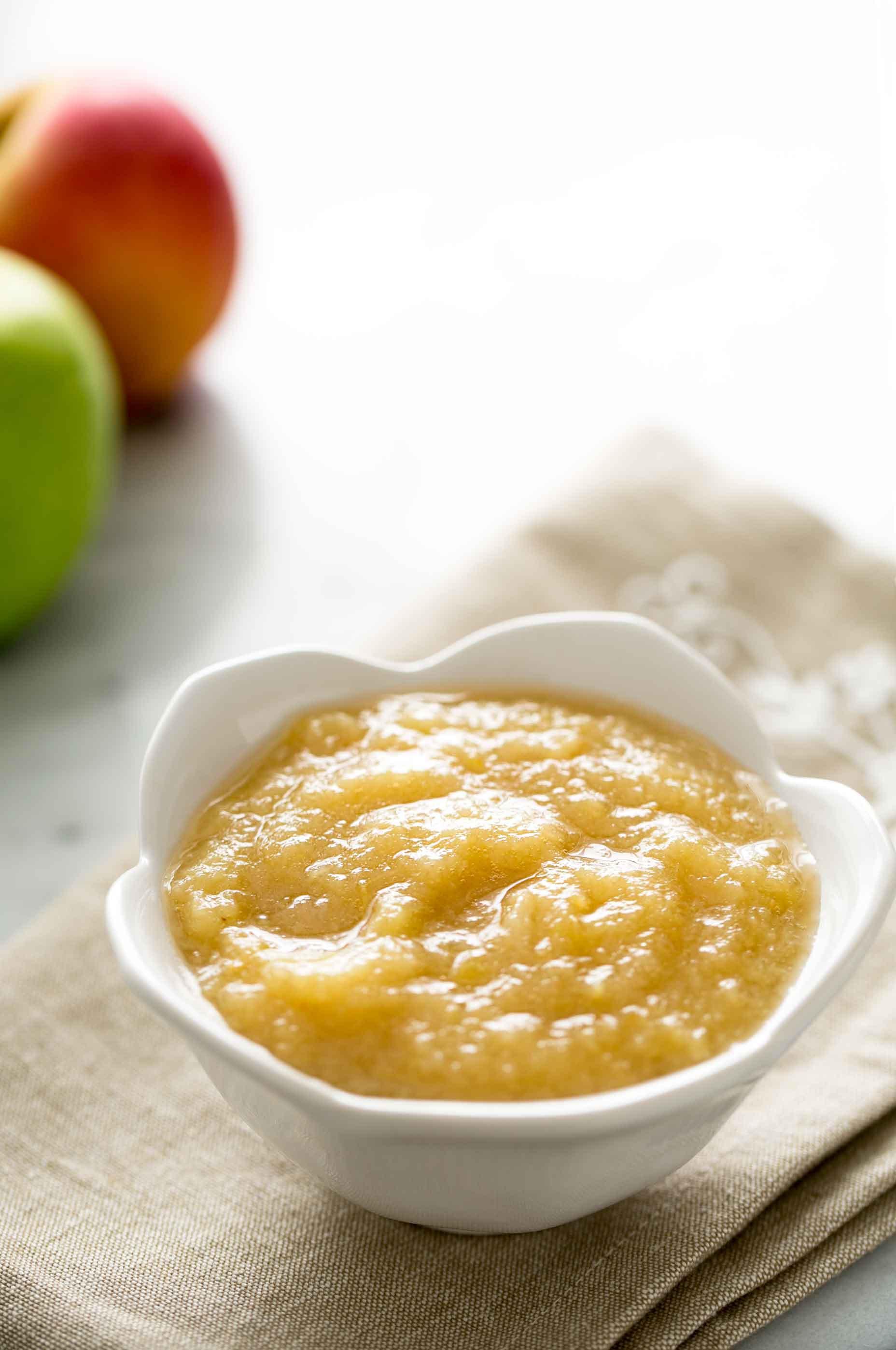 Recipe For Applesauce  Homemade Applesauce