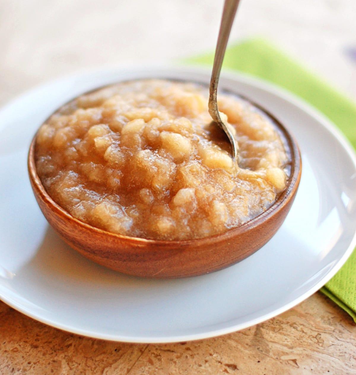 Recipe For Applesauce  Classic Homemade Applesauce Recipe Pinch of Yum