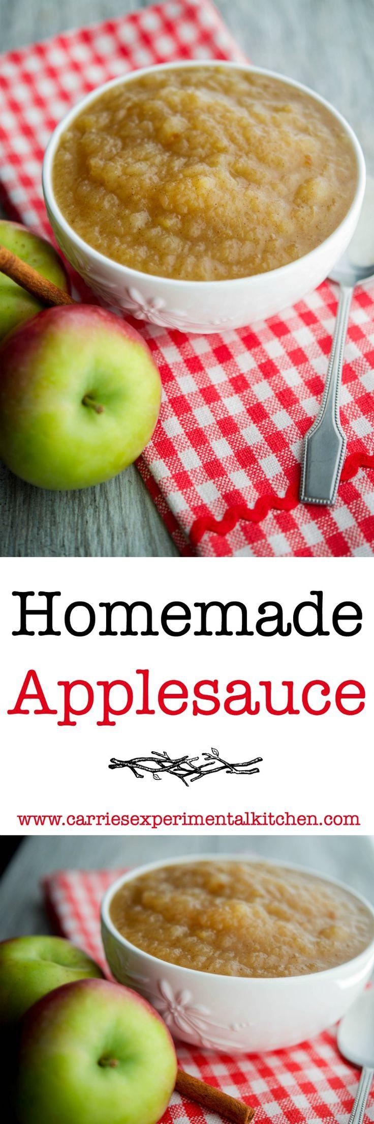 Recipe For Applesauce  Homemade Applesauce Recipe