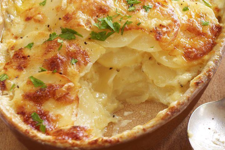 Recipe For Au Gratin Potatoes  Potato gratin