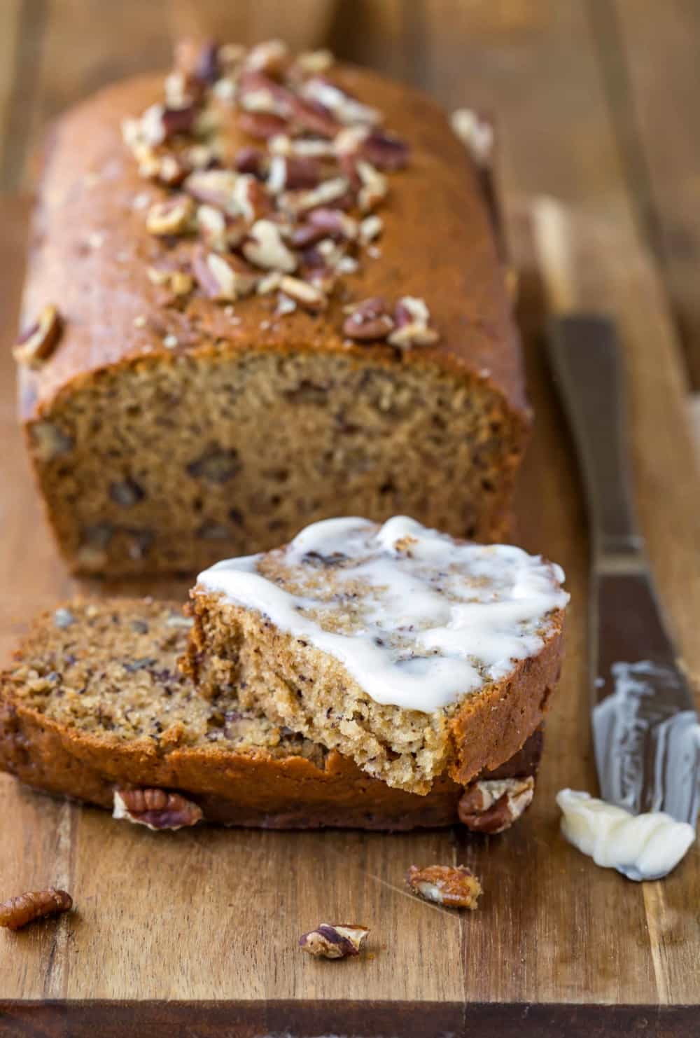 Recipe For Banana Bread  Banana Nut Bread Recipe I Heart Eating