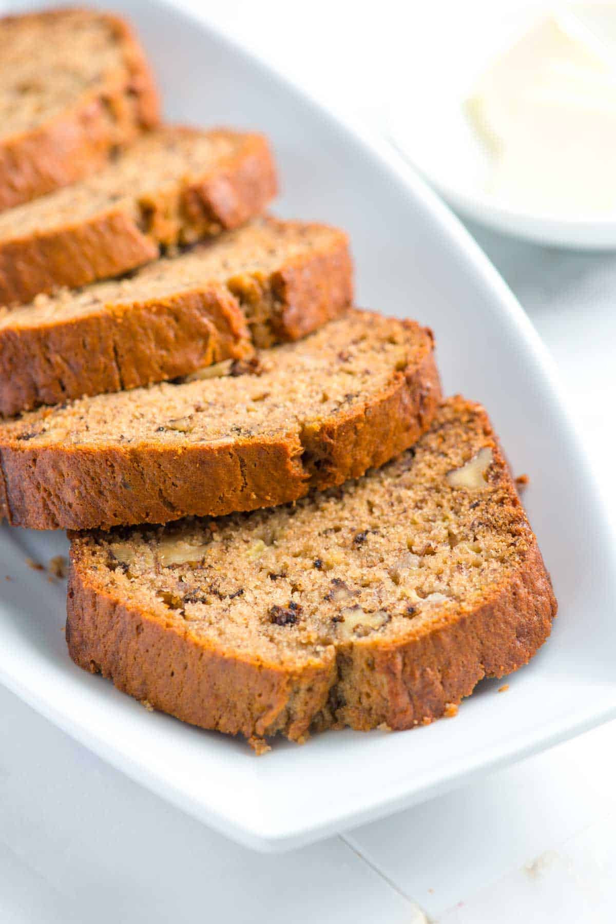 Recipe For Banana Bread  moist banana cake recipe from scratch
