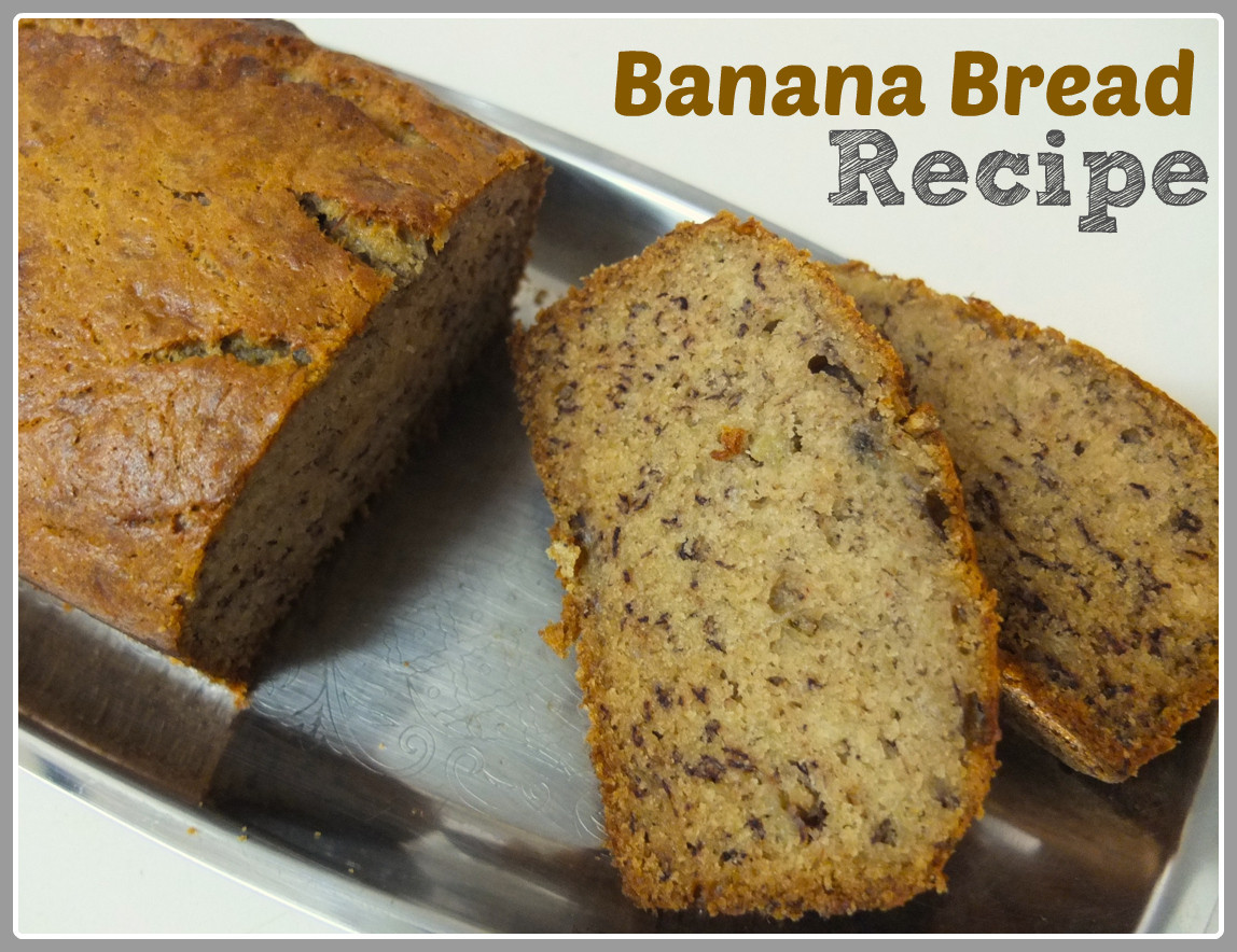 Recipe For Banana Bread  Recipe Banana Bread Something on Everything