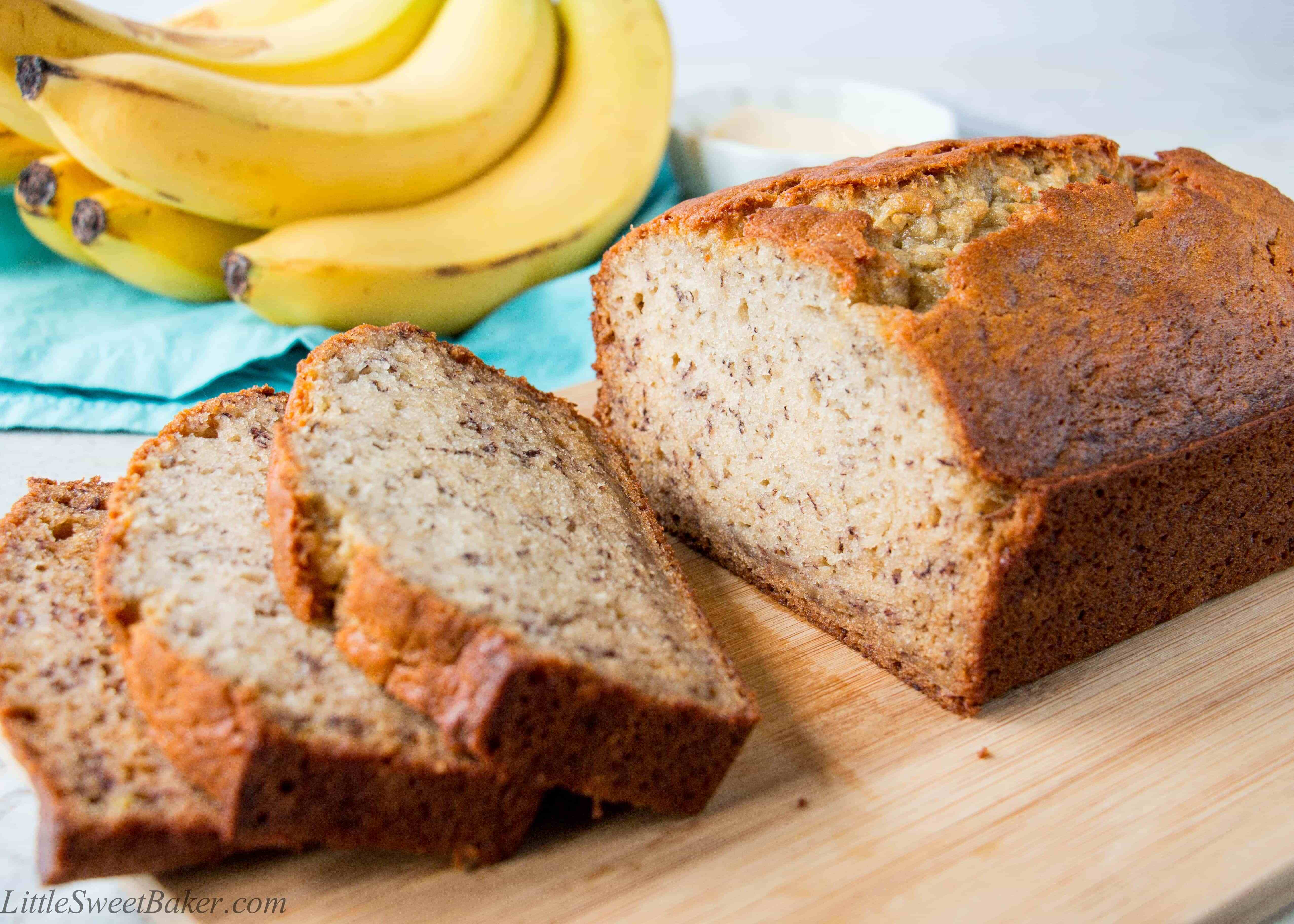 Recipe For Banana Bread  Best Ever Banana Bread Recipe Little Sweet Baker