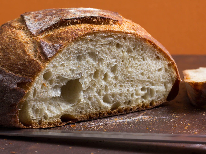 Recipe For Bread  Simple Crusty White Bread Recipe