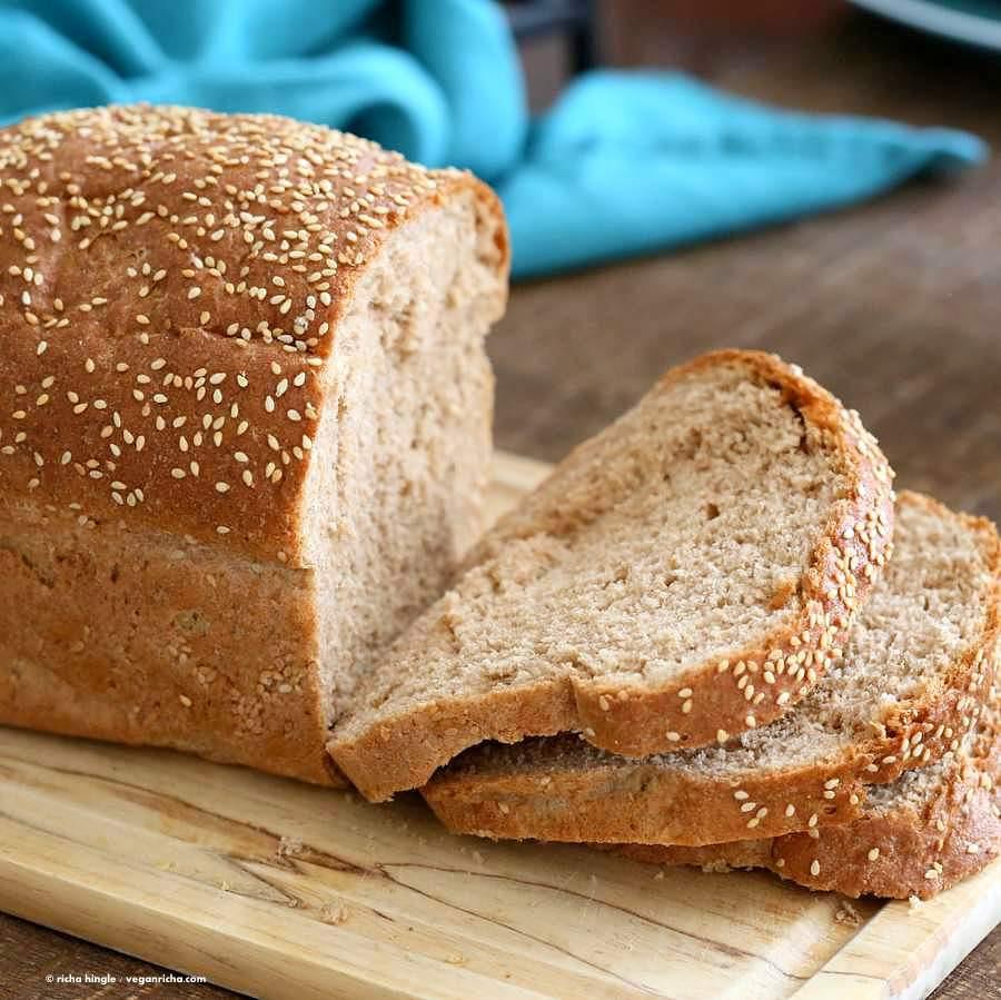 Recipe For Bread  Whole Wheat Bread Recipe Vegan Richa