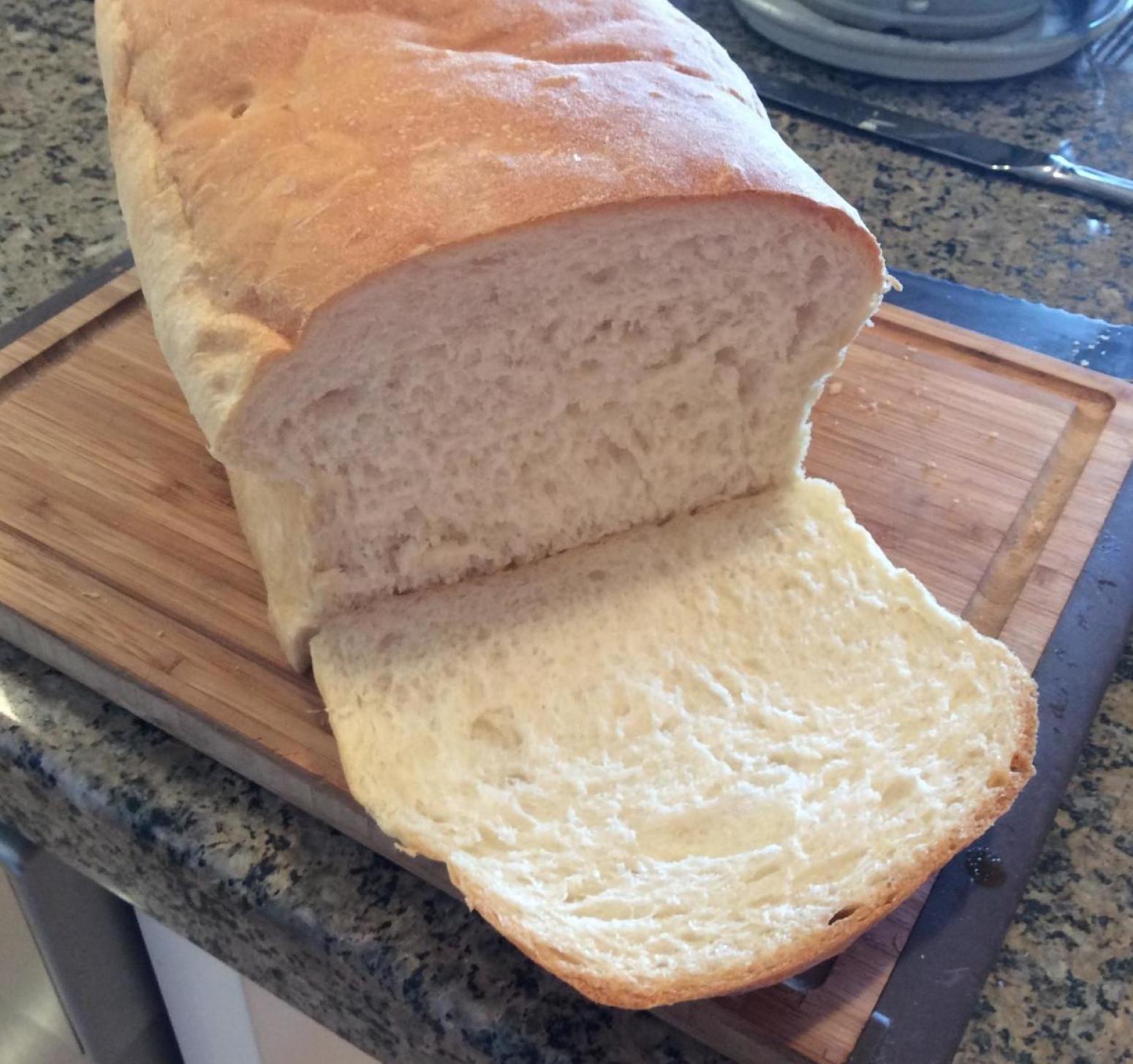 Recipe For Bread  Soft and Easy White Bread Bread Machine Recipe