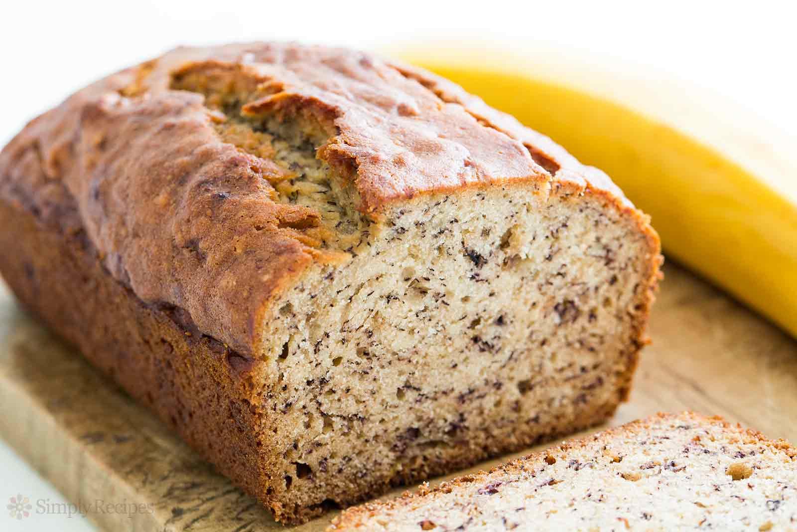 Recipe For Bread  Banana Bread Recipe [with video]