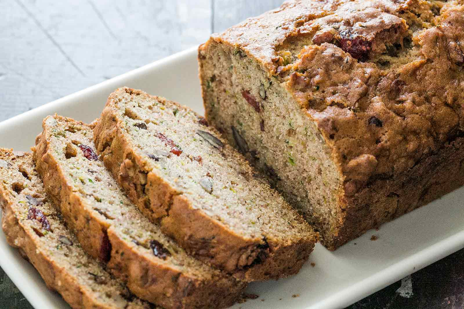 Recipe For Bread  Zucchini Bread Recipe