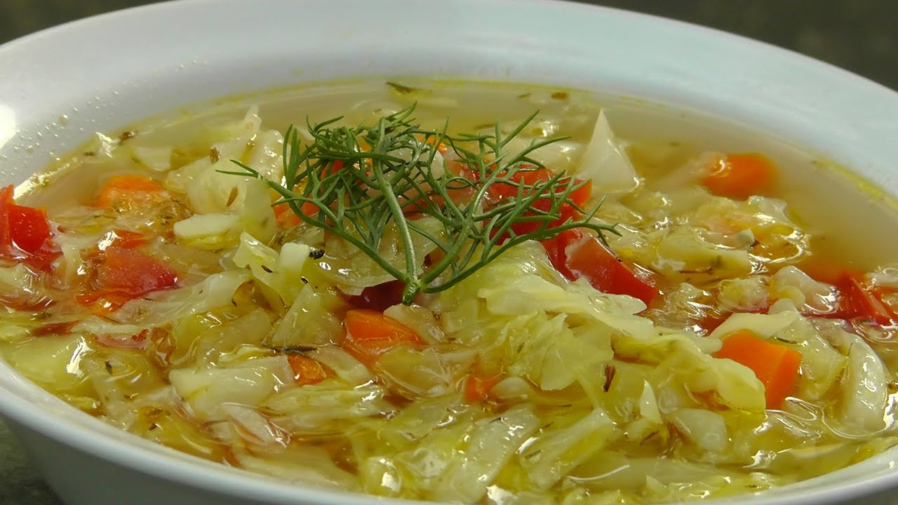 Recipe For Cabbage Soup  veggie cabbage soup