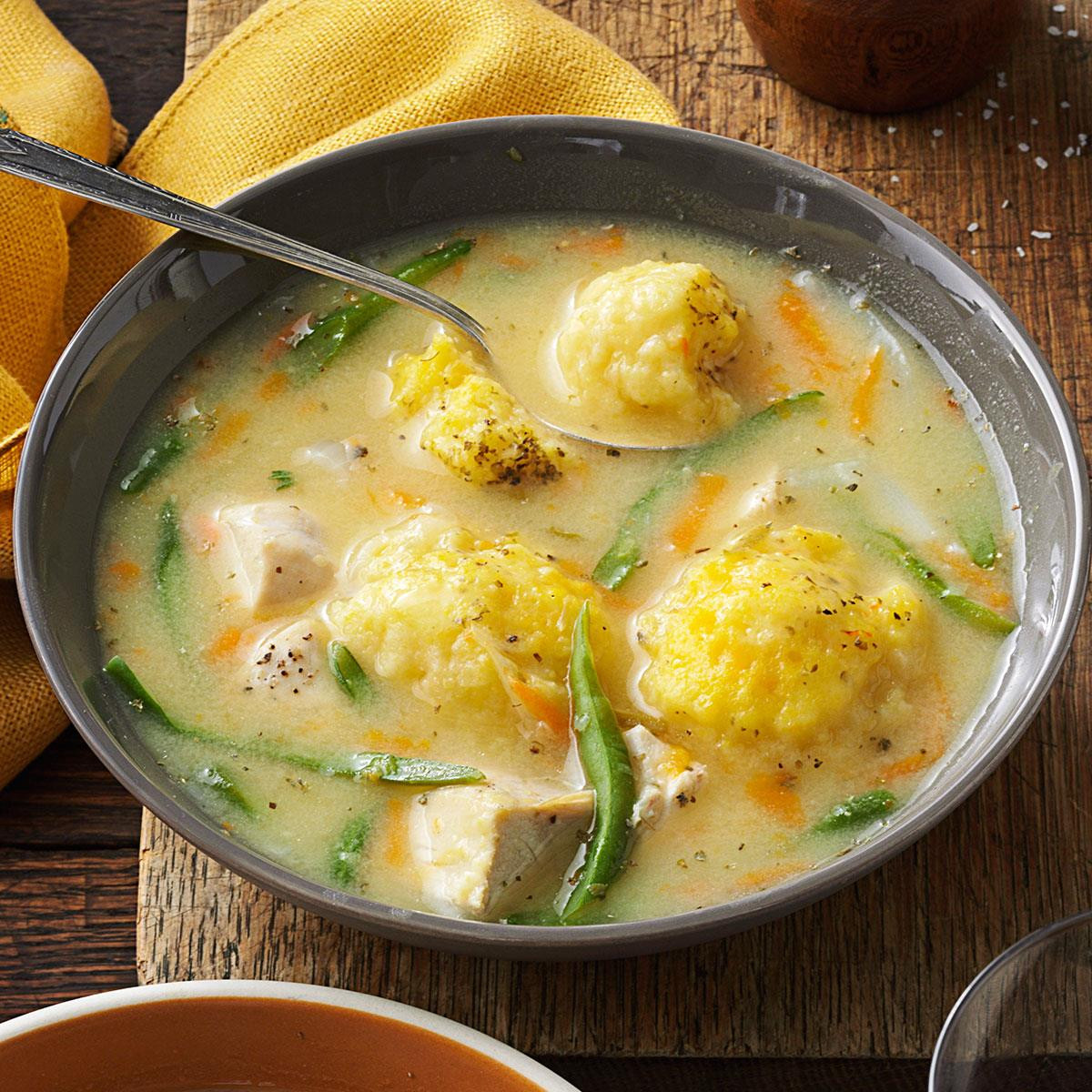 Recipe For Chicken And Dumplings  Yummy Chicken and Dumpling Soup Recipe