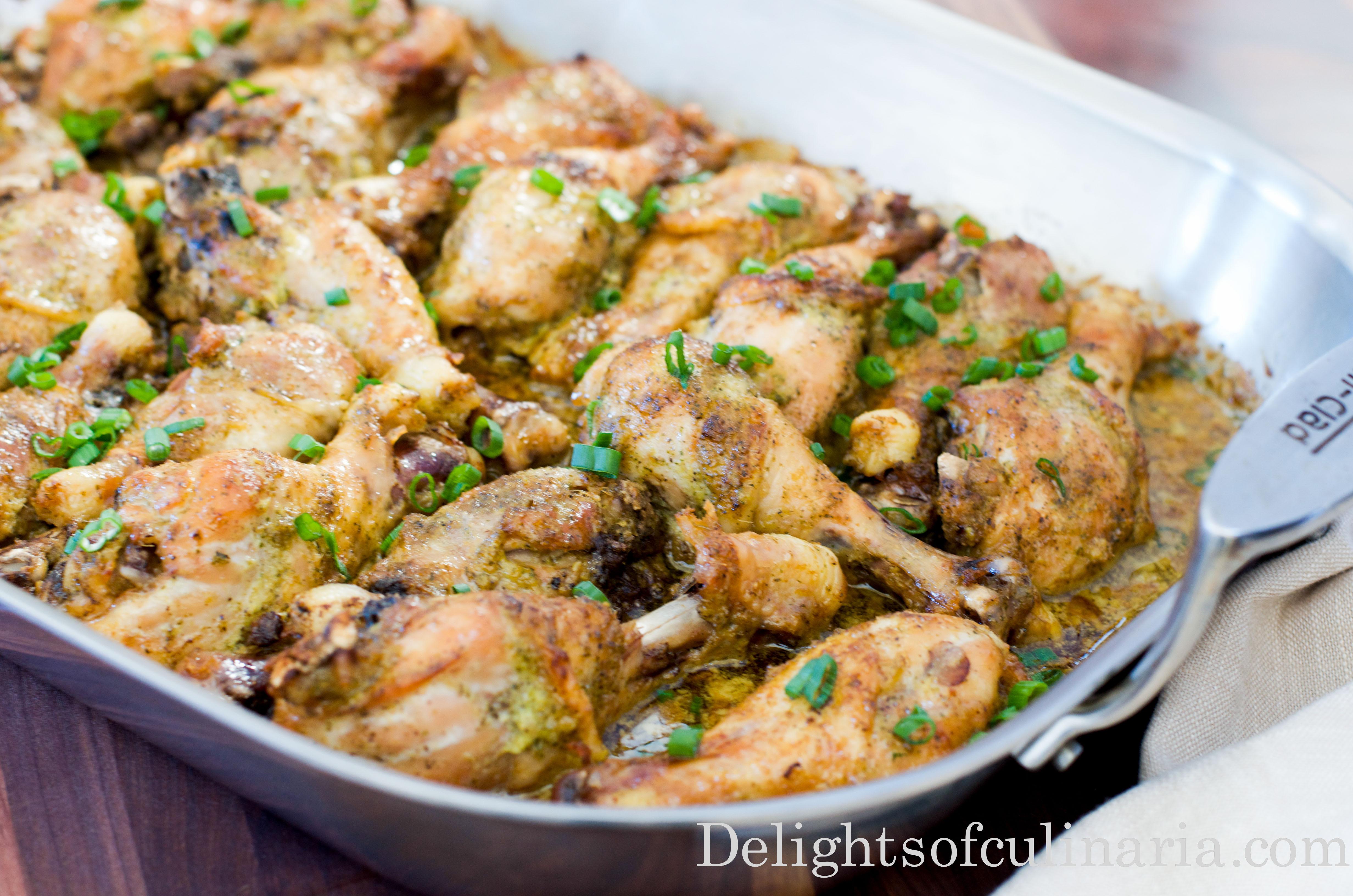 Recipe For Chicken Legs  garlic Archives Delights Culinaria