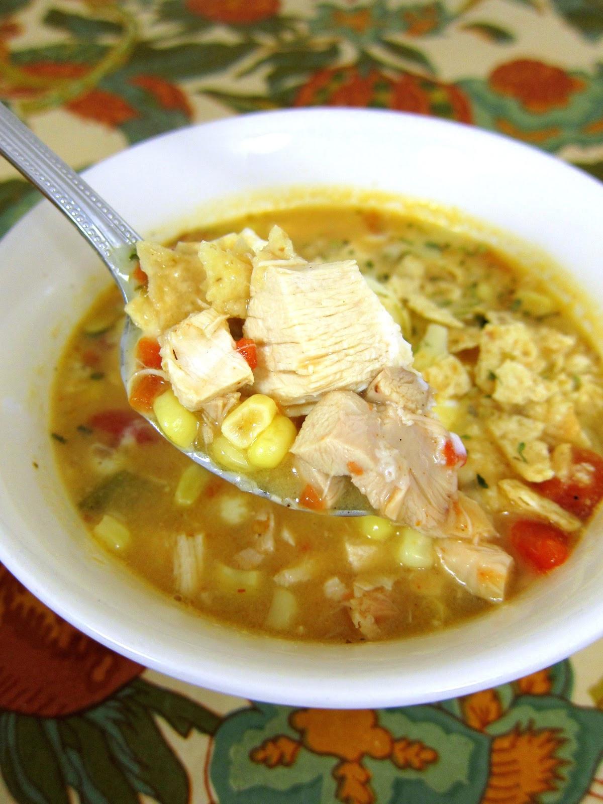Recipe For Chicken Tortilla Soup  Chicken Tortilla Soup