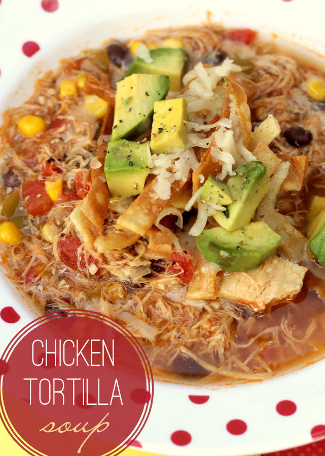 Recipe For Chicken Tortilla Soup  Chicken Tortilla Soup Recipe