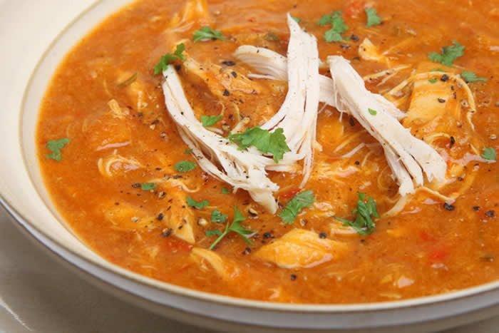 Recipe For Chicken Tortilla Soup  Chicken Tortilla Soup Recipe in a Vitamix or Blendtec