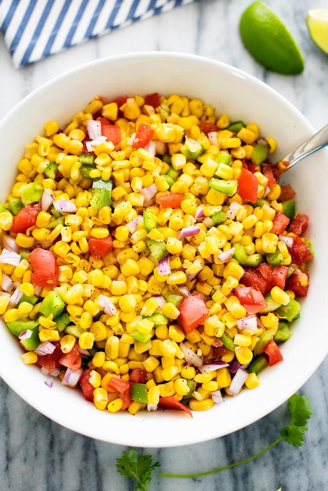 Recipe For Corn Salad  Summer Corn Salad Life In The Lofthouse